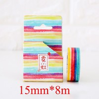 new arrived kawaii washi tape for notebook Photo album hand account Masking Tapes for scrapbooking 02470