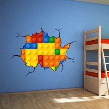 Lego Wall decal for housewares