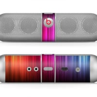The Straight Vector HD Lines Skin for the Beats by Dre Pill Bluetooth Speaker