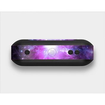 The Violet Glowing Nebula Skin Set for the Beats Pill Plus