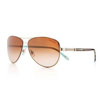 Tiffany & Co. - Tiffany Somerset™:Aviator Sunglasses