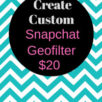 CUSTOM Snapchat Geofilter for any event! Bridal Shower Snapchat, Bachelorette Party Snapchat, Wedding Snapchat Geofilter, On-demand Filter