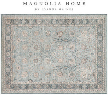 Magnolia Home Ella Rose Blue Rug