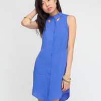 Something Else / Purple Haze Shirt Dress