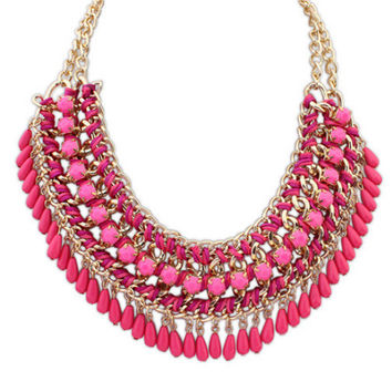 Shiny Jewelry Stylish New Arrival Gift Vintage Bohemia Necklace [6586422791]