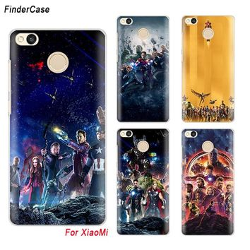 FinderCase Case for Xiaomi Redmi 4x Marvel Avengers Infinity War 3 Redmi Note Phone Case for Xiaomi Redmi Note 2 3 4 4X 5A 5 Pro