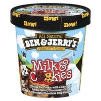 Ben & Jerry's Milk and Cookies Ice Cream 1 pt