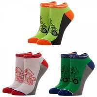 Nintendo Mario Kart Good Guys Ankle Socks