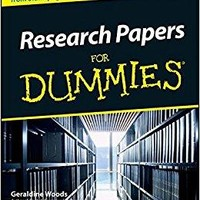 Research Papers for Dummies For Dummies