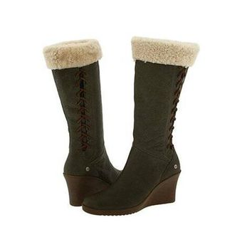 Ugg Boots Cyber Monday Felicity Wedge 5450 Nopal For Women 133 87
