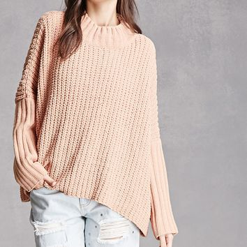 Oversized Drape Sweater