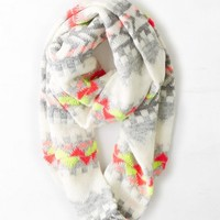 AEO Women's Bright Knit Loop Scarf
