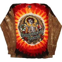 Grateful Dead Men's  Bay Area Beloved Tie Dye  Long Sleeve Multi