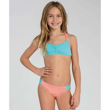 GIRLS SOL SEARCHER TALI SWIMWEAR SET