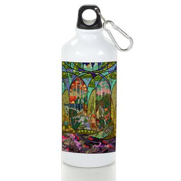 Gift Sport Bottles | Story In Stained Glasses Aluminum Sport Bottles
