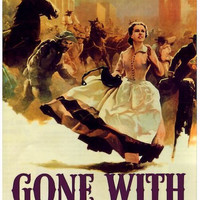Gone with the Wind, 1939 - Print from Old Movie Poster