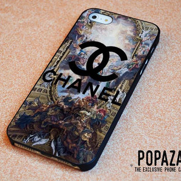 chanel logo art iPhone 5 | 5S Case Cover