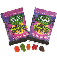 Black Forest Halloween Fruit Snack Packs: 28-Piece Box