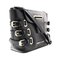 Versace EE1VOBBE1 E899 Black/Gold Crossbody/Shoulder Bag