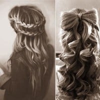 tumblr hair braids - Google Search