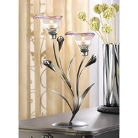 Calla Lily Tealight Candle Holder