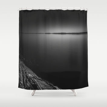 Despair Shower Curtain by HappyMelvin