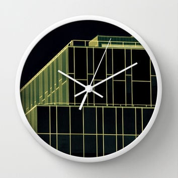 Uncomplex Complex Wall Clock by RichCaspian | Society6