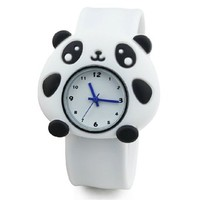 Children Cute Cartoon Panda Waterproof Quartz Watch Wristwatch