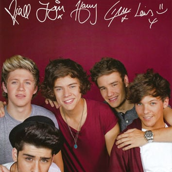 One Direction Burgundy BGD Poster