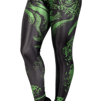 Green Octopus Leggings Design 292
