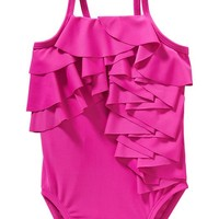 Old Navy Ruffle Front Swimsuits For Baby