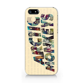 Arctic monkeys art  for iPhone case, iPhone 5 5S case, iPhone 4 4S case, Free shipping M-533