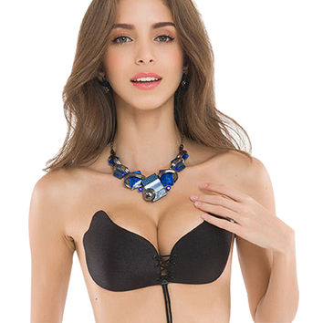 *online exclusive* invisible sexy push up bra