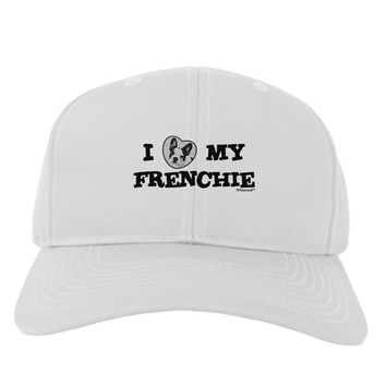 I Heart My Frenchie Adult Baseball Cap Hat by TooLoud