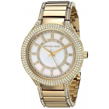 Michael Kors MK3312 Kerry Women's Yellow Gold Wristwatch