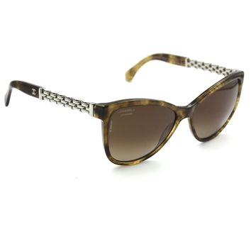 Chanel 5326 Sunglasses Brown Frame with Brown Polarized Lenses