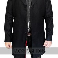 New Peter Capaldia Doctor Who Coat 100% Wool Fabric + FREE GIFT INCLUDED