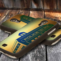 Doctor Who Police Telephone Booth galaxy s4  - iPhone 4 / iPhone 4S / iPhone 5 / Samsung S2 / Samsung S3 / Samsung S4 Case Cove