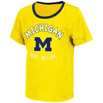 Michigan Wolverines Grounder Tee - Toddler, Size: