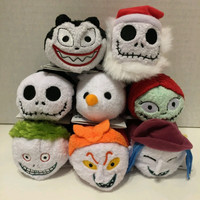Nightmare before christmas Tsum Tsum fabric jack charms sally zero.The nigtmare before christmas pillow/plush toys. Alternative Measures
