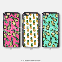 Pineapple Pattern Pink Mint iPhone 6 case iPhone 6 Plus case iPhone 5S case iPhone 5C case 398