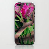 With Flowers iPhone & iPod Skin by Stephen Linhart