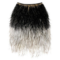 Ostrich Feather Skirt | Women's Bottoms | RicketyRack.com