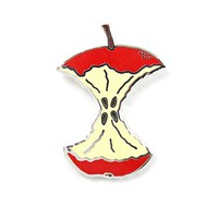 An Eaten Apple Pin
