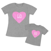 Abacaxi Kids You Complete My Heart Matching T-shirts