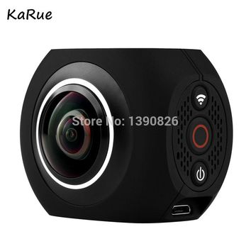 karue  Pano360 Action Camera Ultra HD 4K Sport DV 360 Degree Wide-Angle WiFi Control photographic Sports video camera