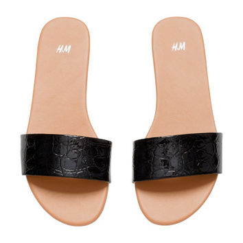 Slip-in Sandals - from H&M