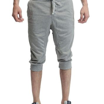 French Terry Jogger Shorts