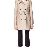 BELTED TRENCH COAT - Coats - Woman - ZARA United States