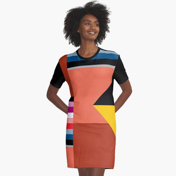 "'""geometric art 432""' Graphic T-Shirt Dress by BillOwenArt"